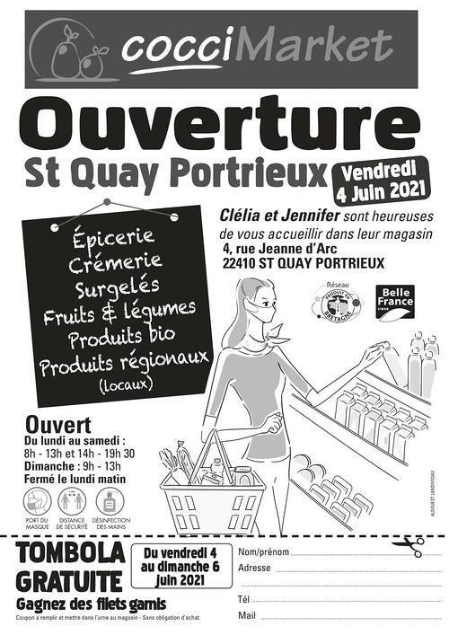 TOMBOLA - Ouverture St-Quay Portrieux / Vendredi 4 Juin 2021 - TOMBOLA