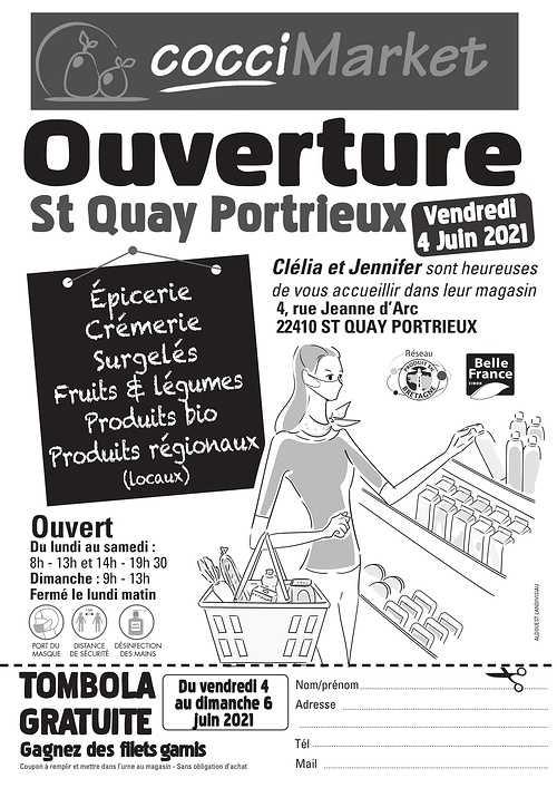 TOMBOLA - Ouverture St-Quay Portrieux / Vendredi 4 Juin 2021 - TOMBOLA 0